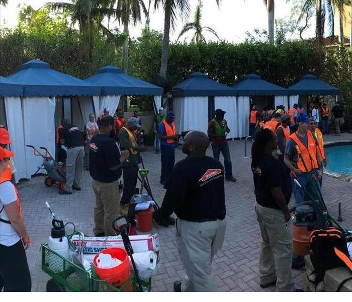 our team in Naples, Florida helping after Hurricane Irma